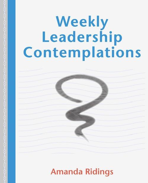 Weekly Leadership Contemplations book cover